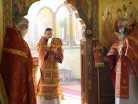Божественная литургия и молебен в День Великой Победы