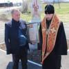 В праздник святителя и чудотворца Николая Архиепископ Феодор освятил поклонный крест в с. Николаевка Елизовского района