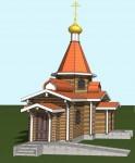 Началось строительство храма в п. Соболево