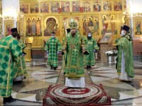 День Святой Троицы. Престольный праздник Кафедрального собора