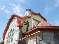 Продолжается строительство храма в честь святителя Луки Крымского