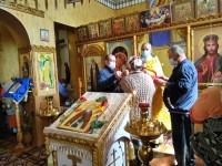 Литургия в престольный праздник храма преподобного Сергия Радонежского в поселке Сокоч Елизовского района