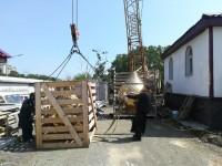 Продолжается строительство храма в честь Новомучеников и исповедников Российских