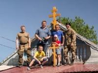 Силами православной общины и казаков в с. Анавгай открыт домовой храм