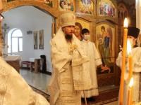 В праздник Преображения Господня Архиепископ Феодор совершил Литургию с Морском соборе