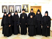 Состоялась встреча Правящего архиерея с насельницами епархиального Свято-Казанского женского монастыря