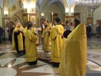 Всенощное бдение в канун праздника свв. Петра и Февронии Муромских