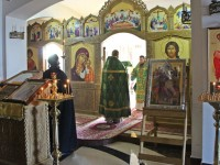 Правящий Архиерей совершил Божественную литургию в день памяти св.блгв. князя Александра Невского