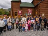 Престольный праздник храма Спаса Нерукотворного с. Эссо
