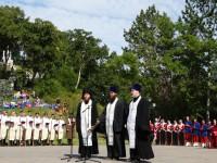 Состоялось торжественное мероприятие, посвященное 166-летию обороны Петропавловского порта  от нападения англо-французской эскадры