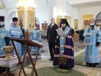 Архиепископ Феодор поздравил Владимира Солодова со вступлением в должность Губернатора Камчатского края