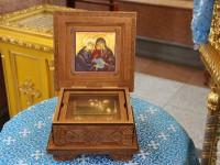 В канун праздника Рождества Пресвятой Богородицы в Кафедральный собор прибывают мощи святых Иоакима и Анны