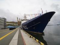 Новые пограничные корабли встретили в Петропавловске-Камчатском