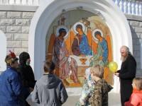 Познавательная игра для детей открыла занятия в Воскресной школе Кафедрального собора