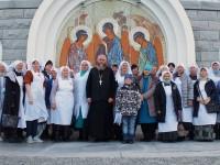 В Кафедральном соборе состоялась встреча сестер милосердия