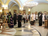 В рамках конференции по социальному служению начались занятия для сестер милосердия