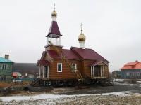 Завершился основнойэтап строительства храма в селе Каменское