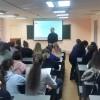 Руководитель молодежного отдела епархии провел встречу со студентами на тему «Основы духовной безопасности»