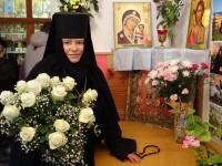 Управляющий епархией поздравил игуменью Свято-Казанского женского монастыря с юбилеем