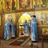 В праздник Казанской иконы Божией Матери Управляющий епархией совершил Божественную литургию в Кафедральном соборе