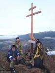 Казаки Быстринского и Мильковского районов установили поклонный Крест в честь 275 — летия Камчатской Духовной миссии