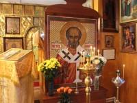 Престольный праздник Свято-Никольского храма в селе Николаевка