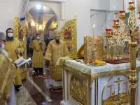 Литургия в день памяти святителя Амвросия Медиоланского