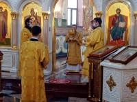 Литургия в праздник апостола Андрея Первозванного