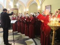 В Троицком соборе совершена панихида в память Евгения Морозова