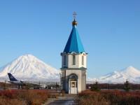 Начались ремонтные работы в часовне Архистратига Божия Михаила в аэропорту г. Елизово