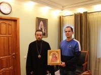 Архиепископ Феодор встретился с представителем Администрация Корякского округа.