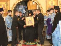 Божественная литургия в праздник благоверного князя Александра Невского