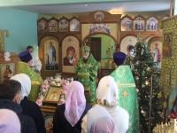 Престольный праздник храма прп. Серафима Саровского в Вилючинске