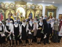 Божественная литургия в храме при доме-интернате п. Ягодный