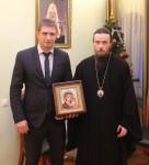 Архиепископ Феодор провел рабочую встречу с директором АО «Камчатэнергосервис»