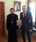 Состоялась встреча Управляющего епархией и заместителя Председателя Правительства Камчатского края