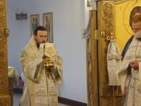 Литургия в день памяти святителя Феофана, Затворника Вышенского