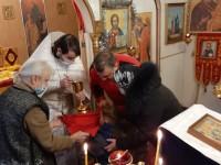 Праздник Богоявления в поселке Тиличики Олюторского района