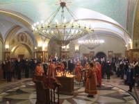 Литургия в праздник Собора новомучеников и исповедников Церкви Русской