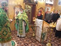 Литургия в праздник прп. Антония Великого в поселке Сокоч