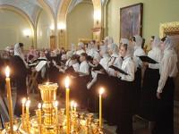 Молодежная литургия в Троицком соборе