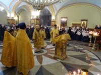 К празднику Сретения Господня в Кафедральном соборе состоится молодежная Литургия