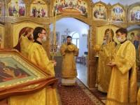 Литургия в день памяти прпп. Кирилла и Марии, родителей прп. Сергия Радонежского