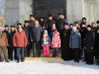 Освящение колоколов гарнизонного Свято-Андреевского храма г. Вилючинск