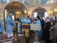 Божественная Литургия в Неделю 37-ю в Морском соборе