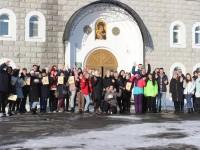 Познавательная игра для молодежи проведена на территории Троицкого собора