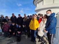 Представители молодежного движения ОНФ посетили епархиальный музей