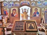 Божественная литургия в день памяти блж. Матроны Московской