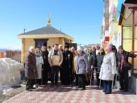 Архиепископ Феодор освятил часовню на территории регионального отделения  «Российского Красного Креста»