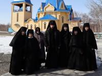 Суббота Акафиста. Литургия в женском монастыре
